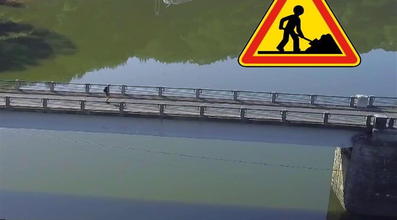 TRAVAUX : le pont de Crozant fermé jusqu'en juin