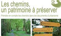 """TERRITOIRE : """" Les chemins, un patrimoine à préserver"""""""